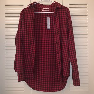 Urban Outfitters Button-Down Flannel Shirt